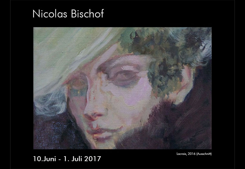 Ausstellung Nicolas Bischof in der Macelleria d'Arte, St. Gallen